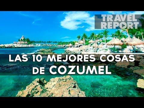 Top ten turístico de Cozumel