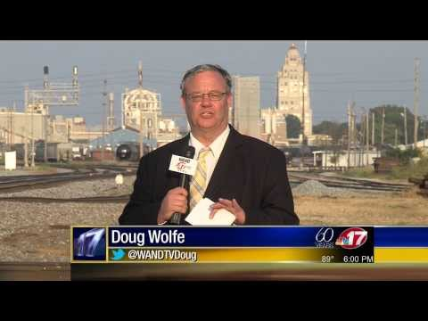 WAND TV News: ADM Opens Intermodal Ramp In Decatur, Illinois