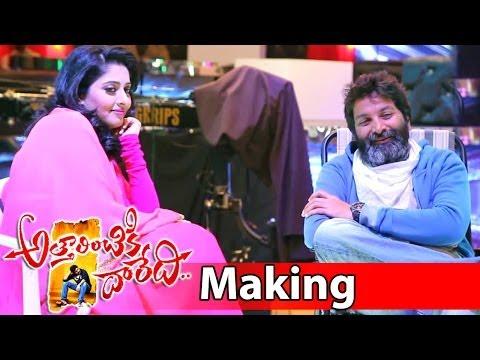 Attarintiki Daredi Movie Making Video 3 || Pawan K...