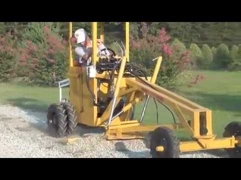 Gravely Powered Motor Grader Tractor