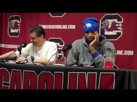 John Calipari and DeMarcus Cousins on johnclay.bloginky.com Video