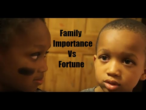 Family Importance vs. Fortune : Ohana Means Family