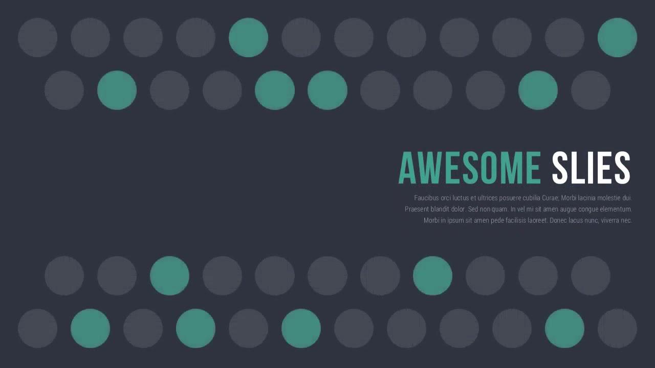 make awesome presentations
