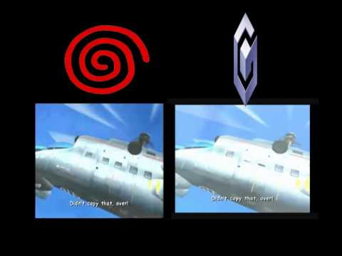 Sonic Adventure 2 -  Hero Intro - Comparison (DC + GC)