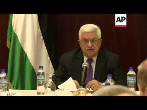 New Palestinian PM Rami Hamdallah is sworn in