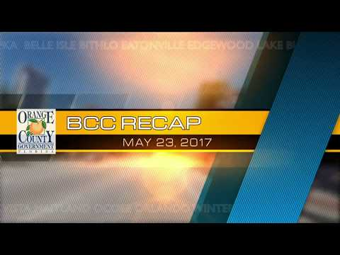 BCC RECAP | May 23, 2017