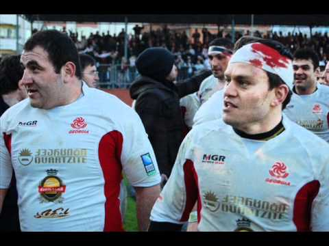 Georgian Rugby team