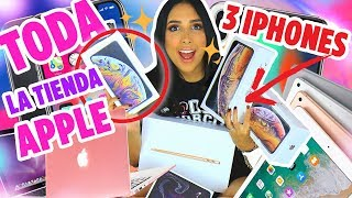 GIVEAWAY: EVERYTHING IN THE APPLE STORE! 3 IPHONE XS MAX, MACBOOK, IPAD PRO AND MORE! | Mariale
