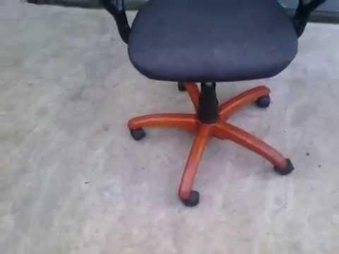 Замена крестовины офисного стула (кресла) на ДЕРЕВЯННУЮ.