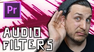 Adobe Premiere Tutorial - Audio Filters (Low and High Pass)