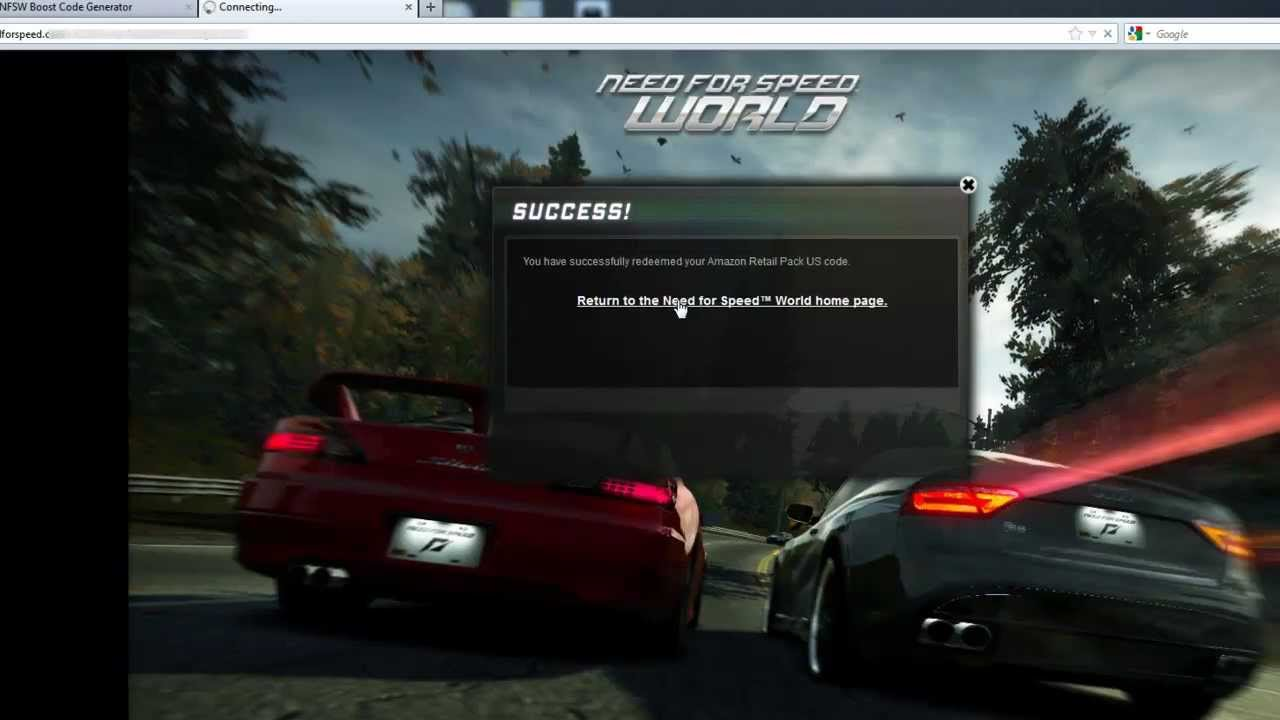 comment gagner speed boost nfs world