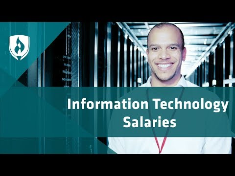 A Look at Information Technology Salaries