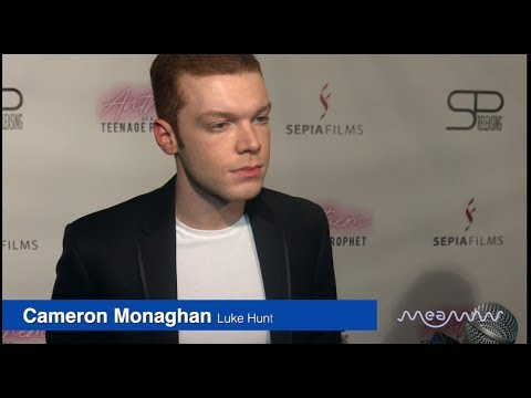 'Anthem Of A Teenage Prophet' - Cameron Monaghan, Peyton List At Premiere