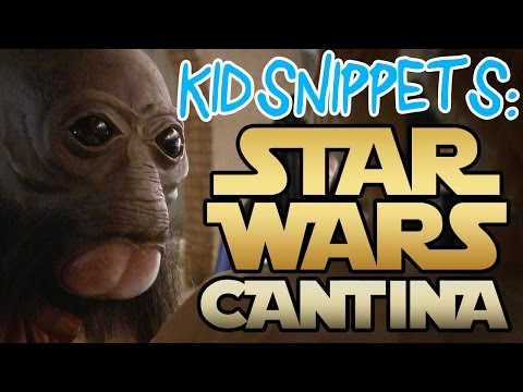 "Kid Snippets: ""Star Wars Cantina"" - May the 4th Be With You"