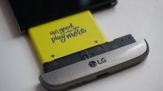 Swapping batteries for the LG G5