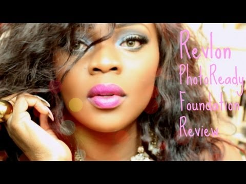 Review Talk Thru Revlon Photoready Foundation for Women of Color Cappuccino