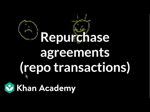 Repurchase Agreements (Repo transactions)