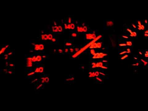 Mercedes Benz 190e Brabus 3.6 Beschleunigung 0-225km/h