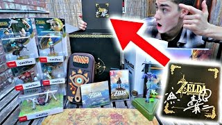 Unboxing EXCLUSIVE [1 of 100] Breath of the Wild MASTER EDITION - Signed by Aonuma