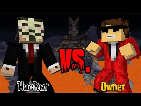 Hacker vs. Owner - Minecraft Machinima