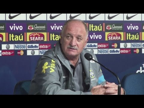 Brazil 2-2 Chile - Scolari disappointed with Brazil's draw against Chile