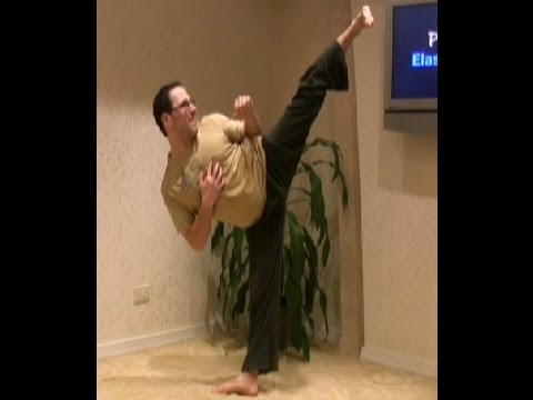Martial Arts: Stop trying to kick high! Martial Arts Students Watch th...