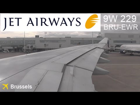 [Onboard] JetAirways A330-300 | VT-JWS ► take-off Brussels Airport [EBBR/BRU]
