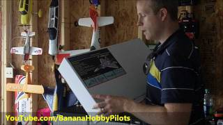 Unboxing of Banana Hobby F-22 Raptor RC 50mm EDF Backpack Jet
