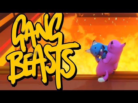 Gang Beasts - СГОРЕТЬ ОТ СМЕХА! (Брейн и Даша)