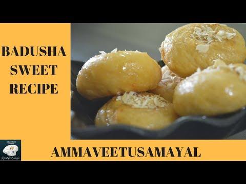 Badusha Recipe in Tamil |Badusha sweet recipe in tamil|How to make baduhsa sweet