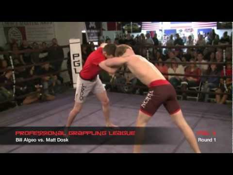 PGL 2 Professional Grappling League - Bill Algeo vs. Matt Dosk - Super...