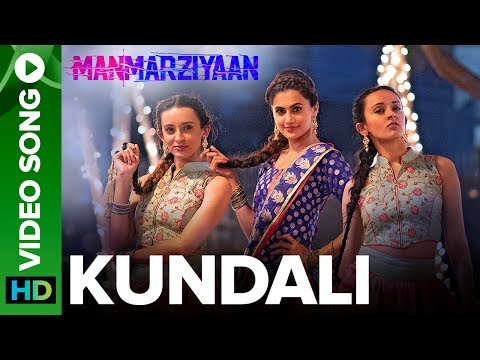 Kundali | Video Song | Manmarziyaan  | Amit Trivedi, Shellee | Abhishek, Taapsee, Vicky