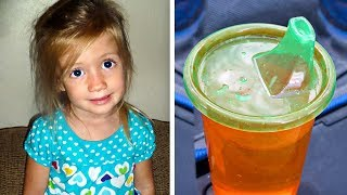Dad Notices Toddler Acting Unusual, Then Takes 1 Sip Of 'Juice' And Immediately Calls 911