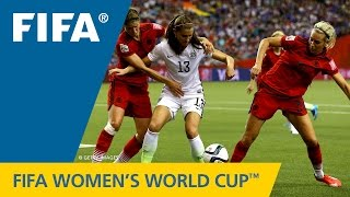 HIGHLIGHTS: USA v. Germany - FIFA Women's World Cup 2015