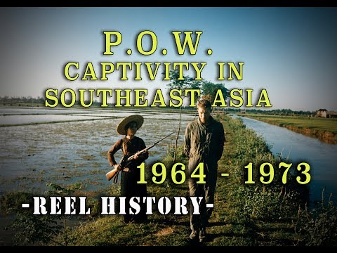 """P.O.W. Captivity"" 1964-1973 - REEL History - Vietnam War Film (1979)"