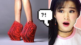 The Most Bizarre And Crazy Shoes