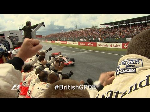 Your Favourite British Grand Prix  - 2008 Hamilton's Win In The Wet