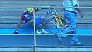Keirin crash