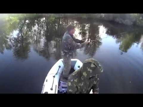Рыбалка в Омской области. Джиг. Река Иртыш и безымянный залив.