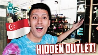 I FOUND a HIDDEN Sneaker OUTLET in SINGAPORE! (Cheap Back to School Sneakers)