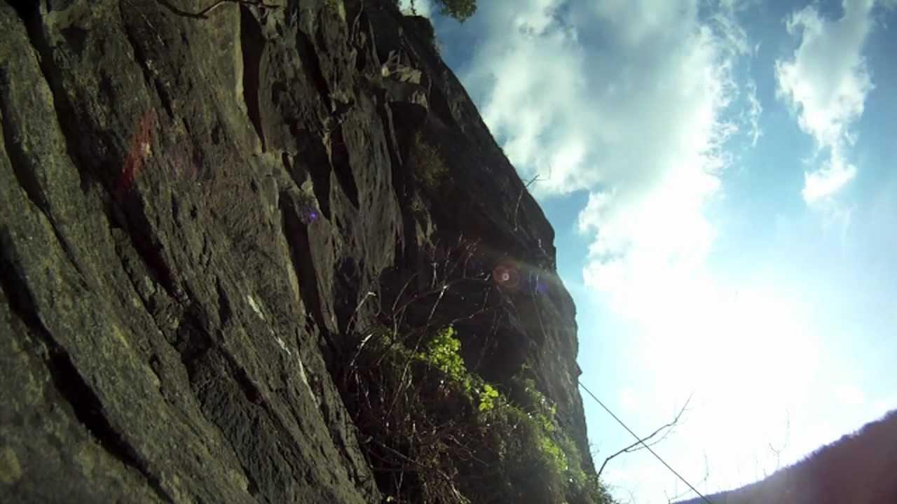 Climbing Avon Gorge Toby Tee