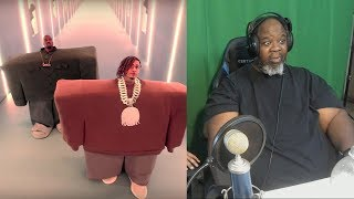 Dad Reacts To Kanye West Lil Pump Ft Adele Givens 34 I Love It 34 Official Music Audio