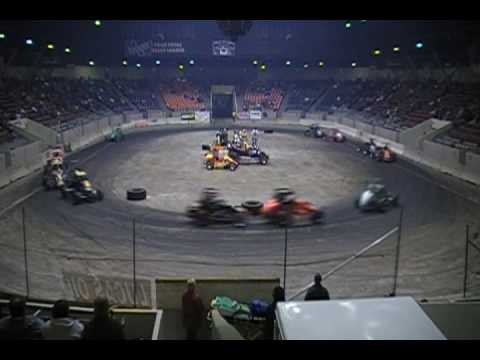 Video of the 50 lap Midget Feature held on Saturday November 1, ...
