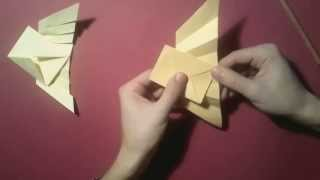 #11 Yakomoga - Origami Tutorial Envelope With Wings By Takashi Hojyo