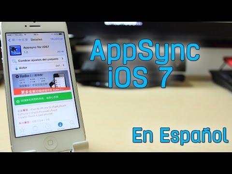 AppSync Para iOS 7  Instala App Gratis