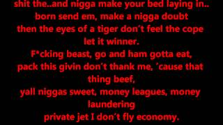 Tyga - All Gold Everything Lyrics