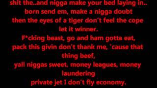 Tyga - All Gold Everything Lyrics