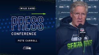 Pete Carroll Postgame Press Conference at Eagles | 2019 Seattle Seahawks
