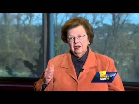 Newsmakers: Sen. Barbara Mikulski not slowing down anytime soon