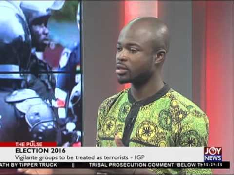 Armed Forces Recruits - The Pulse on Joy News (27-4-16)